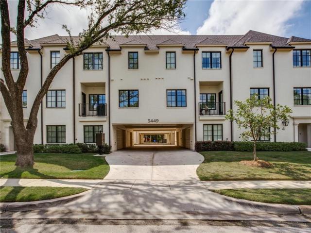 3449 Milton Avenue #102, University Park, TX 75205 (MLS #13935953) :: Magnolia Realty