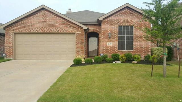 1147 Grimes Drive, Forney, TX 75126 (MLS #13936622) :: RE/MAX Town & Country