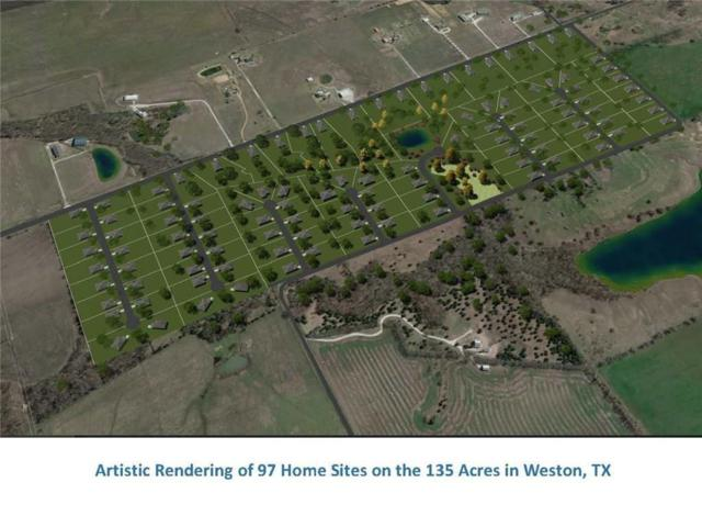 Lot 66 Garfield Court, Weston, TX 75097 (MLS #13936683) :: The Sarah Padgett Team