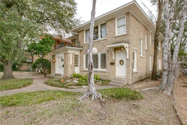 4006 Wycliff Avenue, Dallas, TX 75219 (MLS #13936754) :: The Mitchell Group