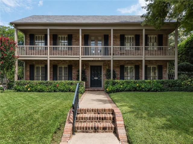 4436 Belclaire Avenue, Highland Park, TX 75205 (MLS #13937001) :: Robbins Real Estate Group
