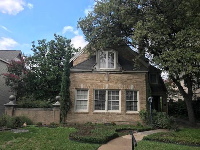 4312 Livingston Avenue, Highland Park, TX 75205 (MLS #13937142) :: NewHomePrograms.com LLC
