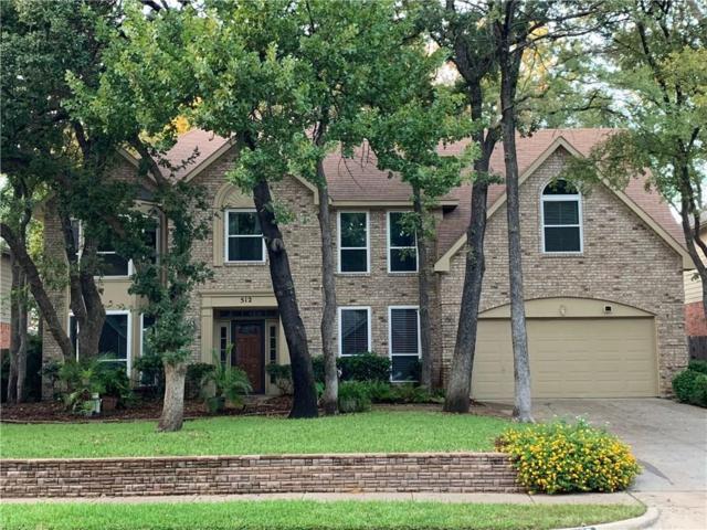 512 Woodhill Court, Grapevine, TX 76051 (MLS #13937450) :: The Rhodes Team