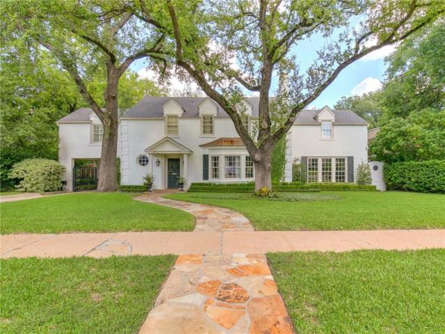 3600 Hamilton Avenue, Fort Worth, TX 76107 (MLS #13937689) :: RE/MAX Town & Country