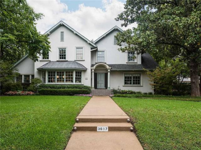 3617 Euclid Avenue, Highland Park, TX 75205 (MLS #13937722) :: Robbins Real Estate Group
