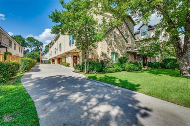 3418 Mcfarlin Boulevard D, University Park, TX 75205 (MLS #13937725) :: Robbins Real Estate Group