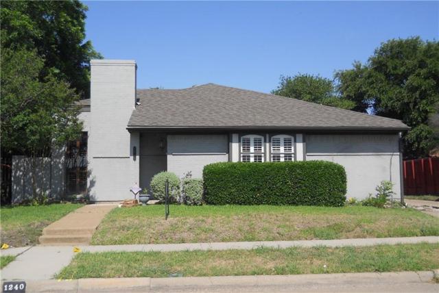 1240 Richland Oaks Drive, Richardson, TX 75081 (MLS #13937995) :: RE/MAX Town & Country