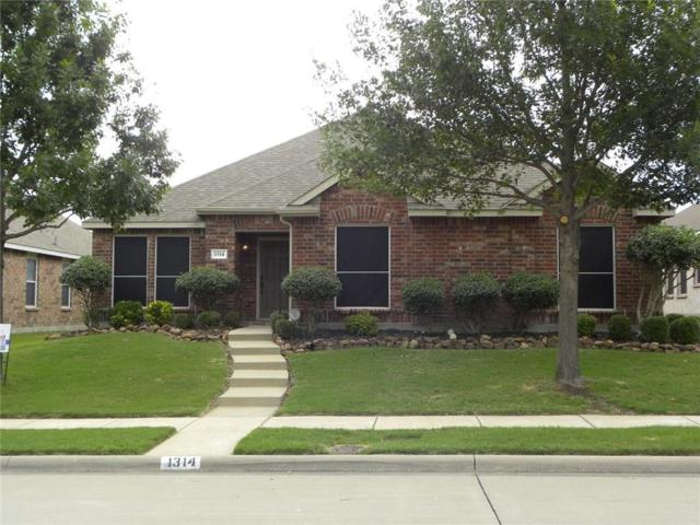 1314 Hazelwood Drive, Allen, TX 75002 (MLS #13938086) :: Robbins Real Estate Group