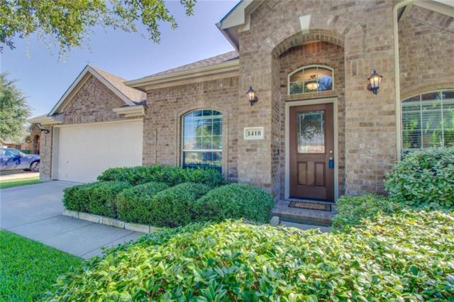 1418 Bessie Drive, Wylie, TX 75098 (MLS #13938206) :: RE/MAX Town & Country