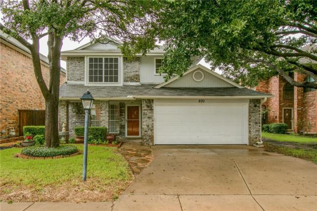 820 Woodlake Drive, Coppell, TX 75019 (MLS #13938211) :: Robbins Real Estate Group