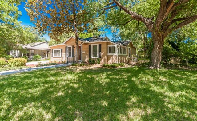 3800 Oaklawn Drive, Fort Worth, TX 76107 (MLS #13939267) :: The Chad Smith Team