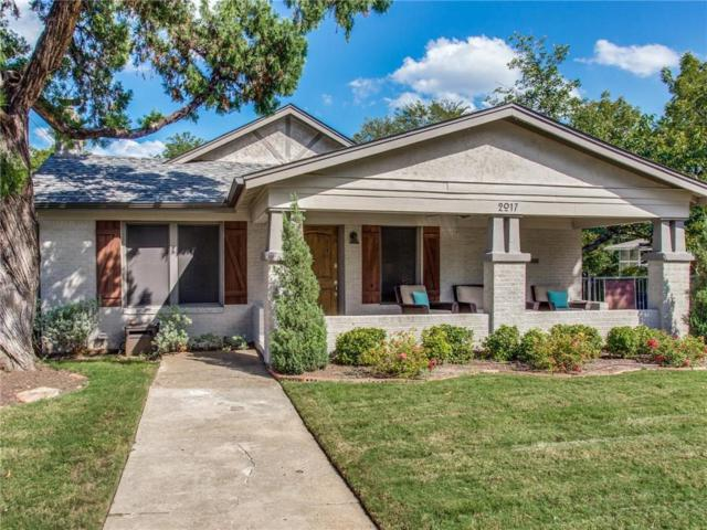 2017 Clover Lane, Fort Worth, TX 76107 (MLS #13939467) :: RE/MAX Landmark