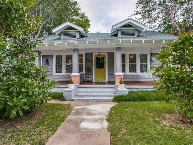 5429 Worth Street, Dallas, TX 75214 (MLS #13939501) :: Robbins Real Estate Group