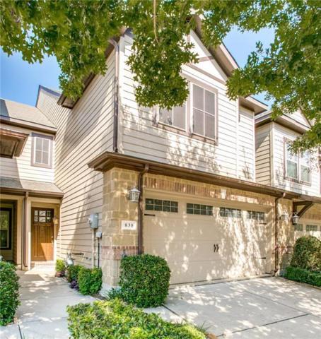 830 Vashon Drive, Allen, TX 75013 (MLS #13939693) :: Robbins Real Estate Group
