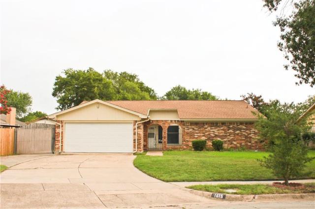 1615 Overbrook Dr, Arlington, TX 76014 (MLS #13939891) :: RE/MAX Pinnacle Group REALTORS