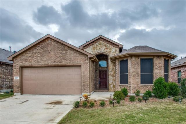 4809 Gunnison Drive, Denton, TX 76208 (MLS #13939974) :: Baldree Home Team