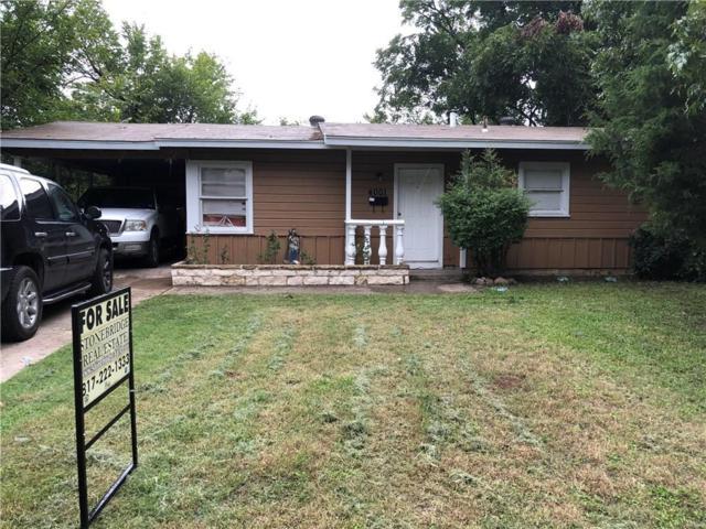 4001 Castleman Street, Fort Worth, TX 76119 (MLS #13940072) :: RE/MAX Pinnacle Group REALTORS