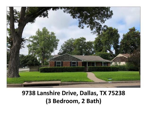 9738 Lanshire Drive, Dallas, TX 75238 (MLS #13940099) :: RE/MAX Pinnacle Group REALTORS