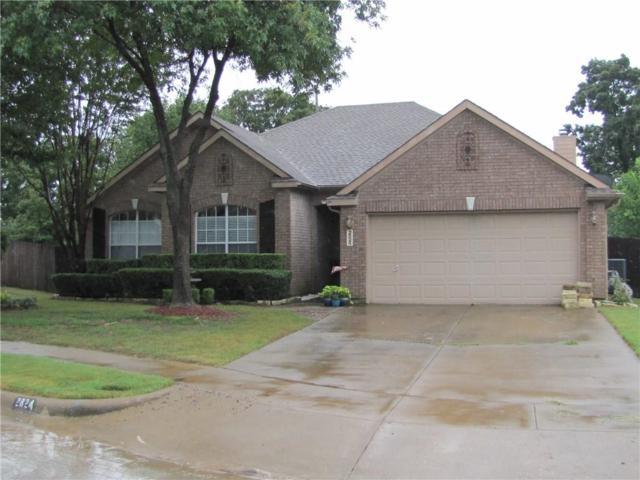 2824 Hollow Ridge Drive, Denton, TX 76210 (MLS #13940200) :: Real Estate By Design