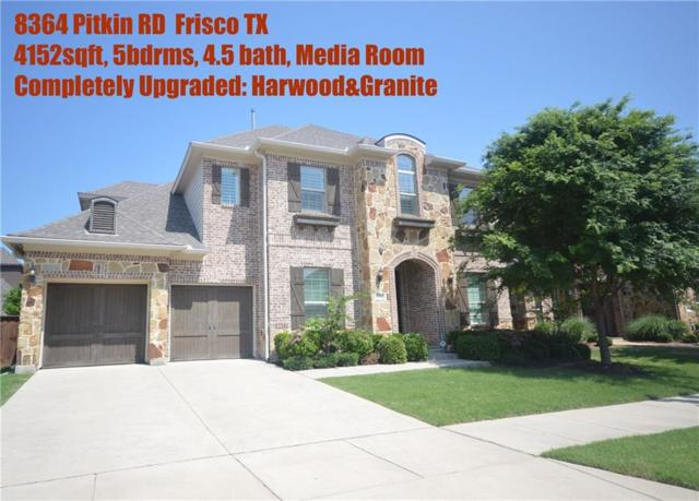8364 Pitkin Road, Frisco, TX 75034 (MLS #13940212) :: Real Estate By Design