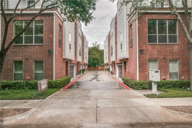 4327 Buena Vista Street #2, Dallas, TX 75205 (MLS #13940264) :: Exalt Realty