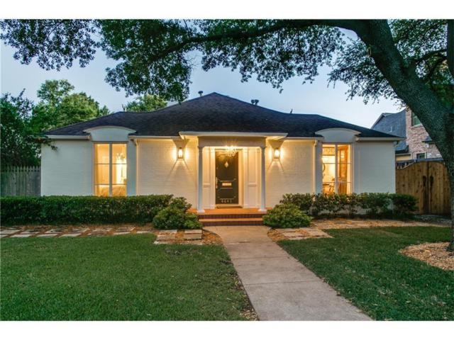 4641 Belclaire Avenue, Highland Park, TX 75209 (MLS #13940329) :: Exalt Realty