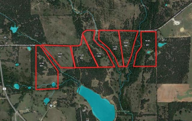 002 Middleton Road, Weatherford, TX 76088 (MLS #13940408) :: Magnolia Realty