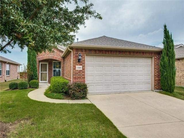 1368 Troon Drive, Frisco, TX 75036 (MLS #13940454) :: Robbins Real Estate Group