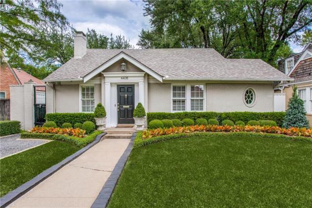 4406 Vandelia Street, Dallas, TX 75219 (MLS #13940479) :: Robbins Real Estate Group