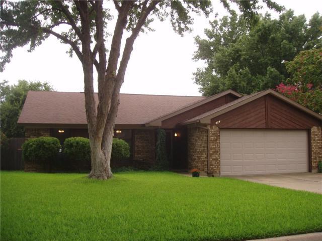 424 Benjamin Lane, Arlington, TX 76002 (MLS #13941131) :: Robbins Real Estate Group