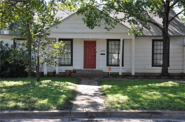 2203 Berkley Street, Brownwood, TX 76801 (MLS #13941464) :: The Good Home Team