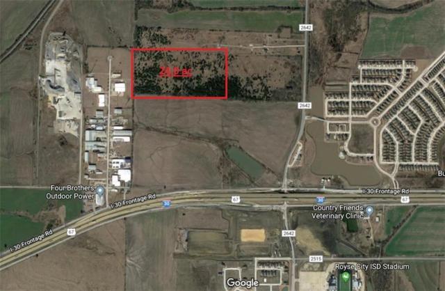 0 Fm 2642, Royse City, TX 75189 (MLS #13942308) :: Magnolia Realty
