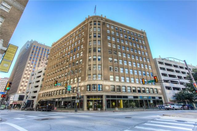411 W 7th Street #701, Fort Worth, TX 76102 (MLS #13942945) :: RE/MAX Landmark
