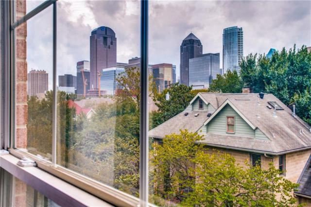 2305 Worthington Street #319, Dallas, TX 75204 (MLS #13943761) :: RE/MAX Landmark