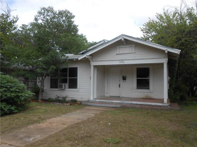 608 S Seaman Street, Eastland, TX 76448 (MLS #13943810) :: Robinson Clay Team