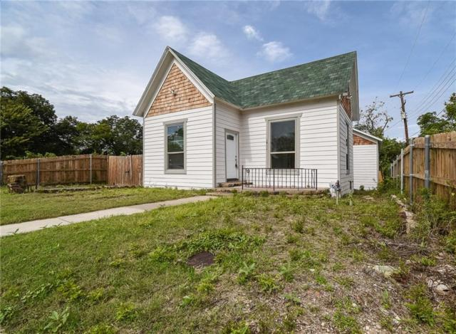 1411 E Tucker Street, Fort Worth, TX 76104 (MLS #13944603) :: RE/MAX Town & Country