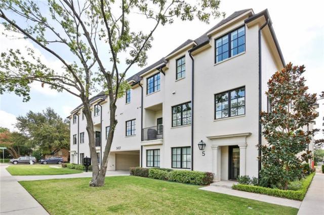 3437 Milton Avenue #105, University Park, TX 75205 (MLS #13945136) :: Magnolia Realty
