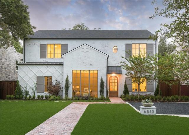 6510 Stichter Avenue, Dallas, TX 75230 (MLS #13945991) :: Robbins Real Estate Group