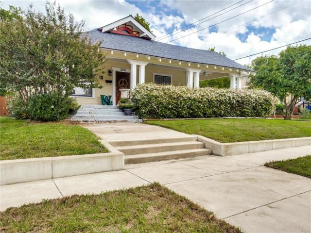 2261 6th Avenue, Fort Worth, TX 76110 (MLS #13946132) :: The Chad Smith Team
