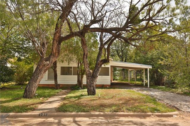1533 Marshall Street, Abilene, TX 79605 (MLS #13946550) :: Robbins Real Estate Group