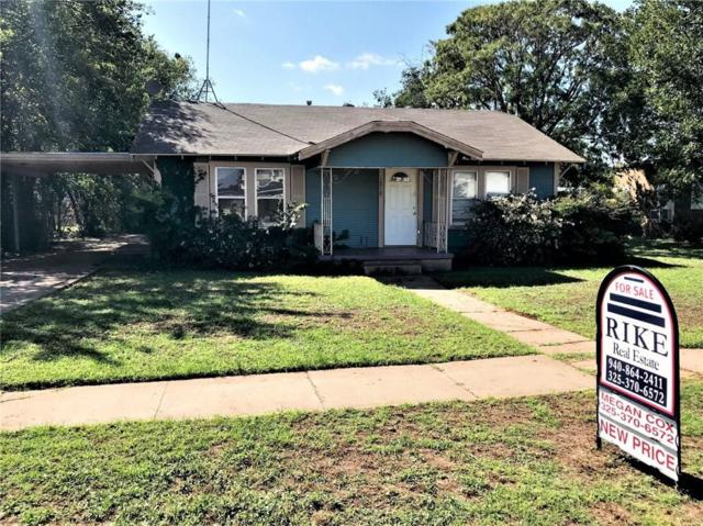 1210 E Wells Street, Stamford, TX 79553 (MLS #13947019) :: RE/MAX Town & Country