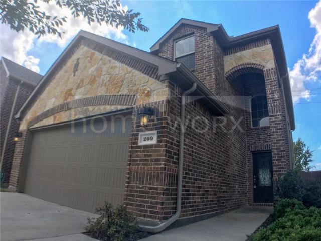 209 Red Hawk Place, Mckinney, TX 75071 (MLS #13947332) :: The Rhodes Team