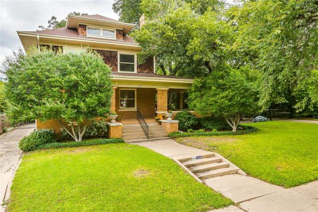 1112 Elizabeth Boulevard, Fort Worth, TX 76110 (MLS #13947719) :: RE/MAX Town & Country