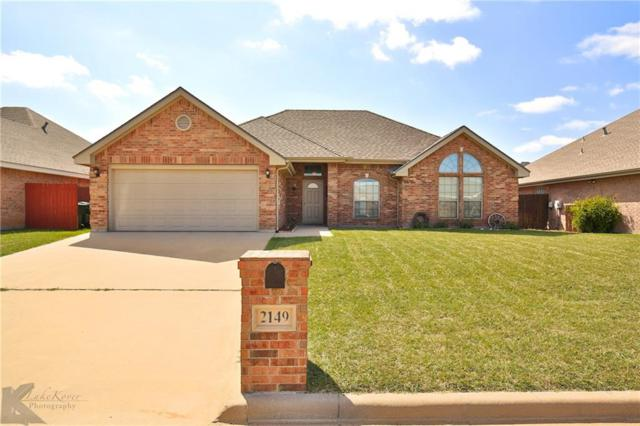2149 Old Ironsides Road, Abilene, TX 79601 (MLS #13947746) :: RE/MAX Town & Country