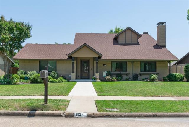 913 Firestone Lane, Richardson, TX 75080 (MLS #13948681) :: RE/MAX Town & Country