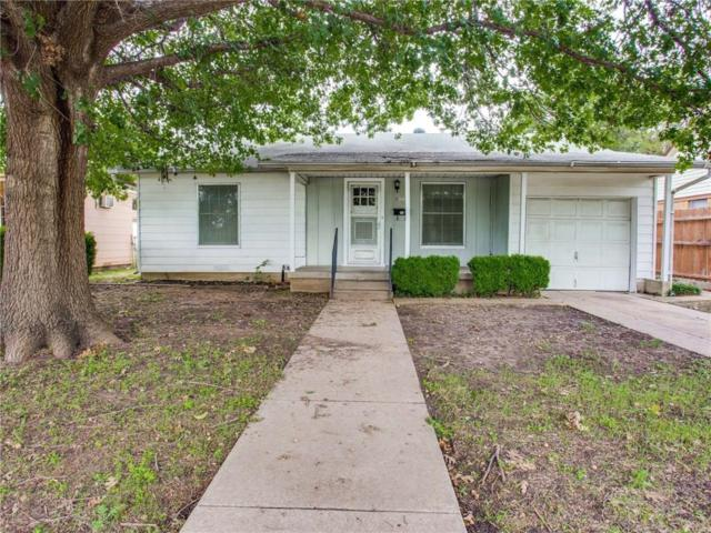 4004 Townsend Drive, Fort Worth, TX 76110 (MLS #13949707) :: RE/MAX Town & Country