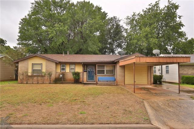 3813 Laurel Drive, Abilene, TX 79603 (MLS #13949952) :: RE/MAX Town & Country