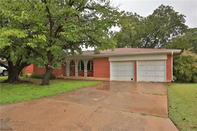 2572 Madison Avenue, Abilene, TX 79601 (MLS #13950417) :: The Chad Smith Team