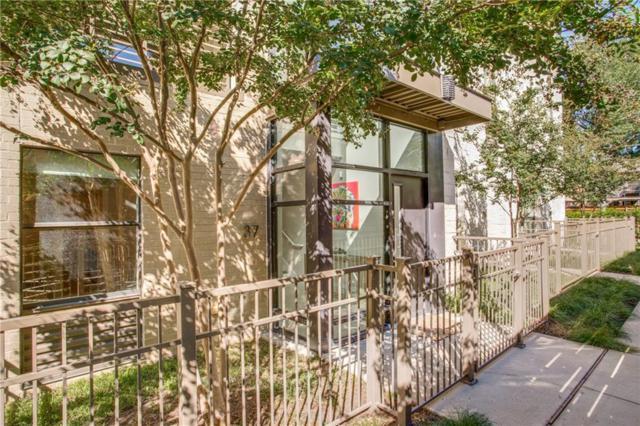 4111 Newton Avenue #37, Dallas, TX 75219 (MLS #13950545) :: Magnolia Realty