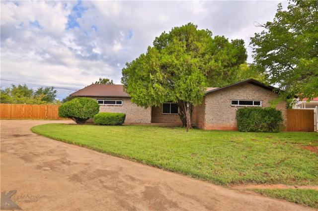 1658 N Bowie Drive, Abilene, TX 79603 (MLS #13950626) :: RE/MAX Town & Country